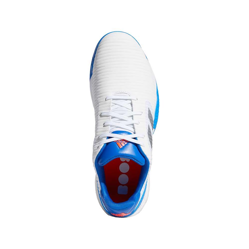 Adidas Men's CodeChaos Sport White/Blue Golf Shoes