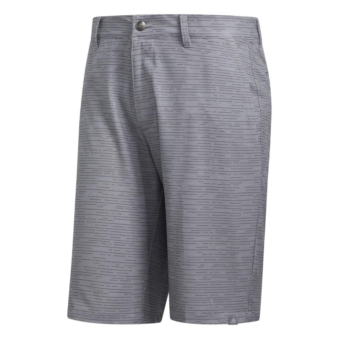 Adidas Men's Ultimate365 Dash Print Grey Three Shorts