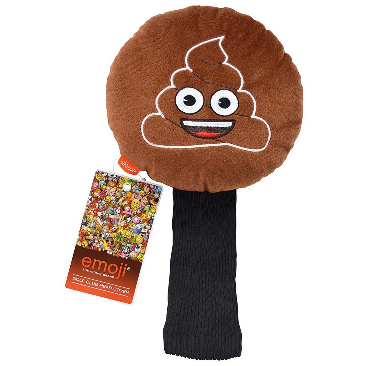 Emoji Golf Headcover Poop