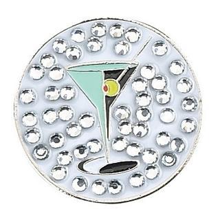Evergolf Crystal Martini Ball Marker