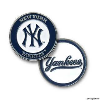 Evergolf MLB Team Ball Marker Yankees