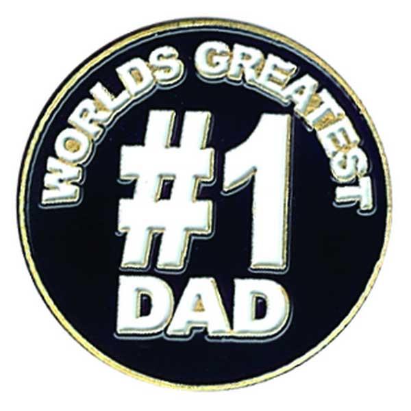 Evergolf World's Greatest Dad Ball Marker