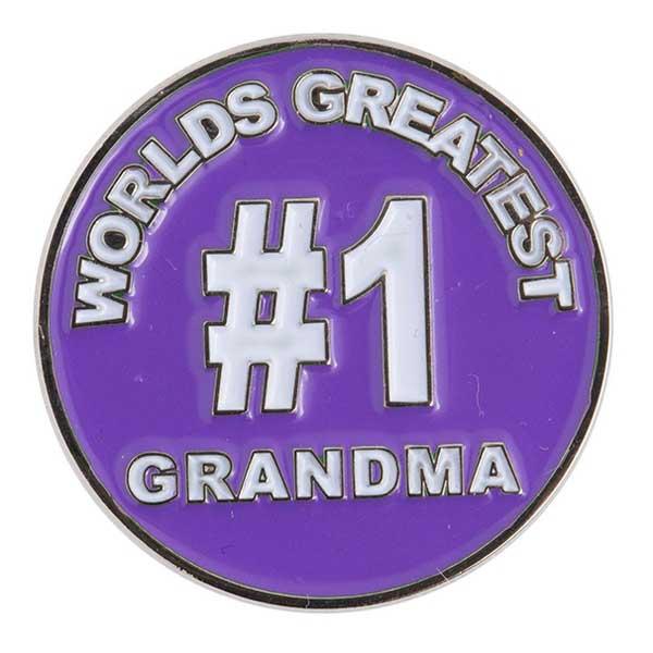 Evergolf World's Greatest Grandma Ball Marker
