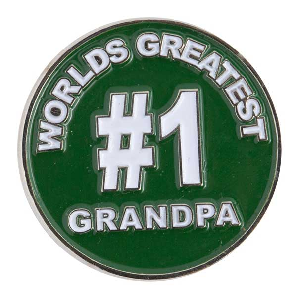 Evergolf World's Greatest Grandpa Ball Marker