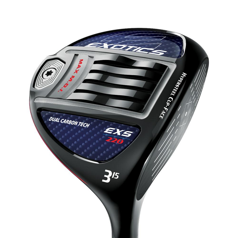 Tour Edge EXS 220 Fairway Woods w/ Fujikura Ventus 50 Shaft