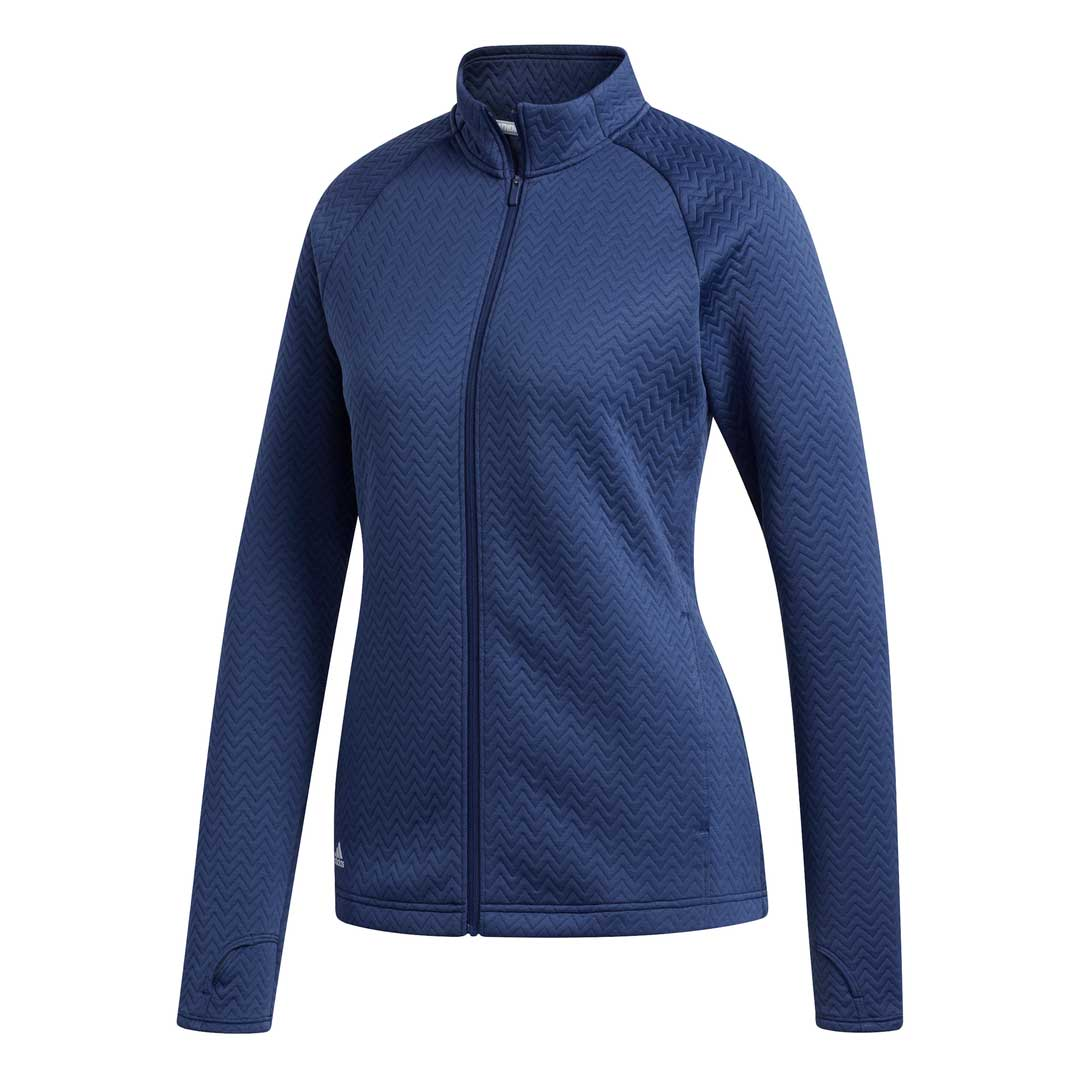 Adidas Women's Tech Indigo Textured Layering Jacket