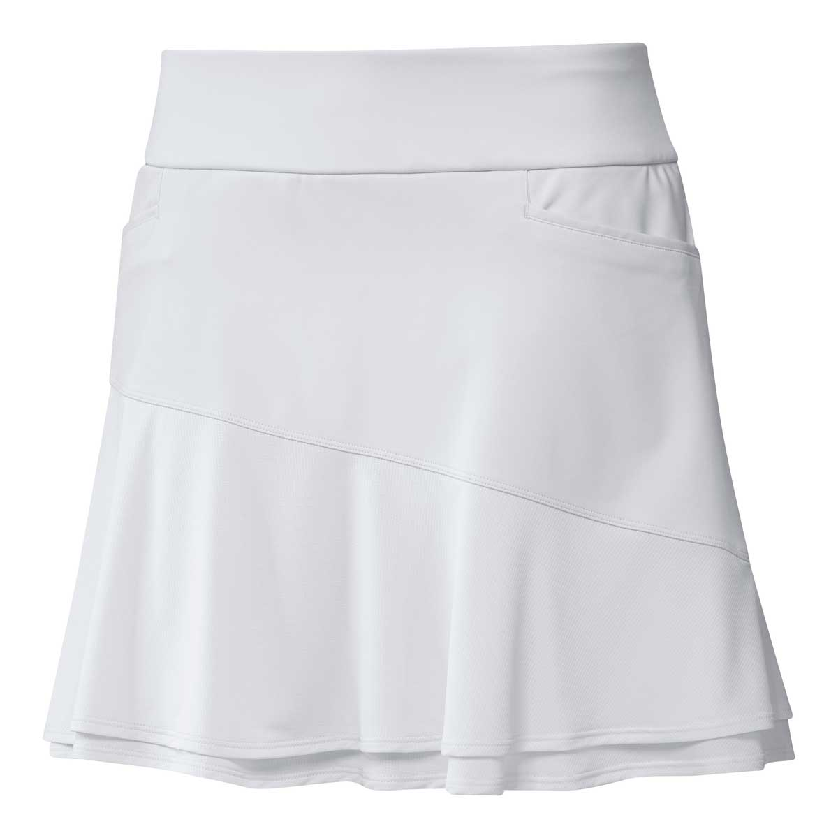 Adidas Women's Ultimate 365 16 Inch White Frill Skort
