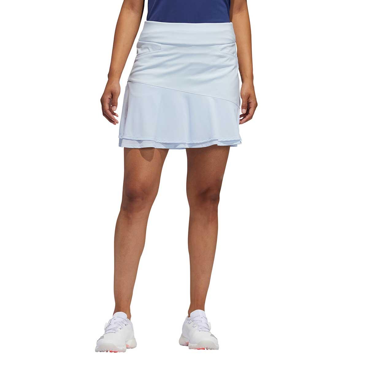 Adidas Women's Ultimate365 Knit Frill Sky Tint Skort