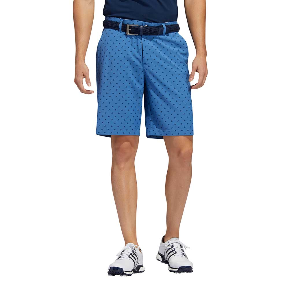 Adidas Men's Ultimate365 Badge of Sport Novelty Trace Royal Shorts