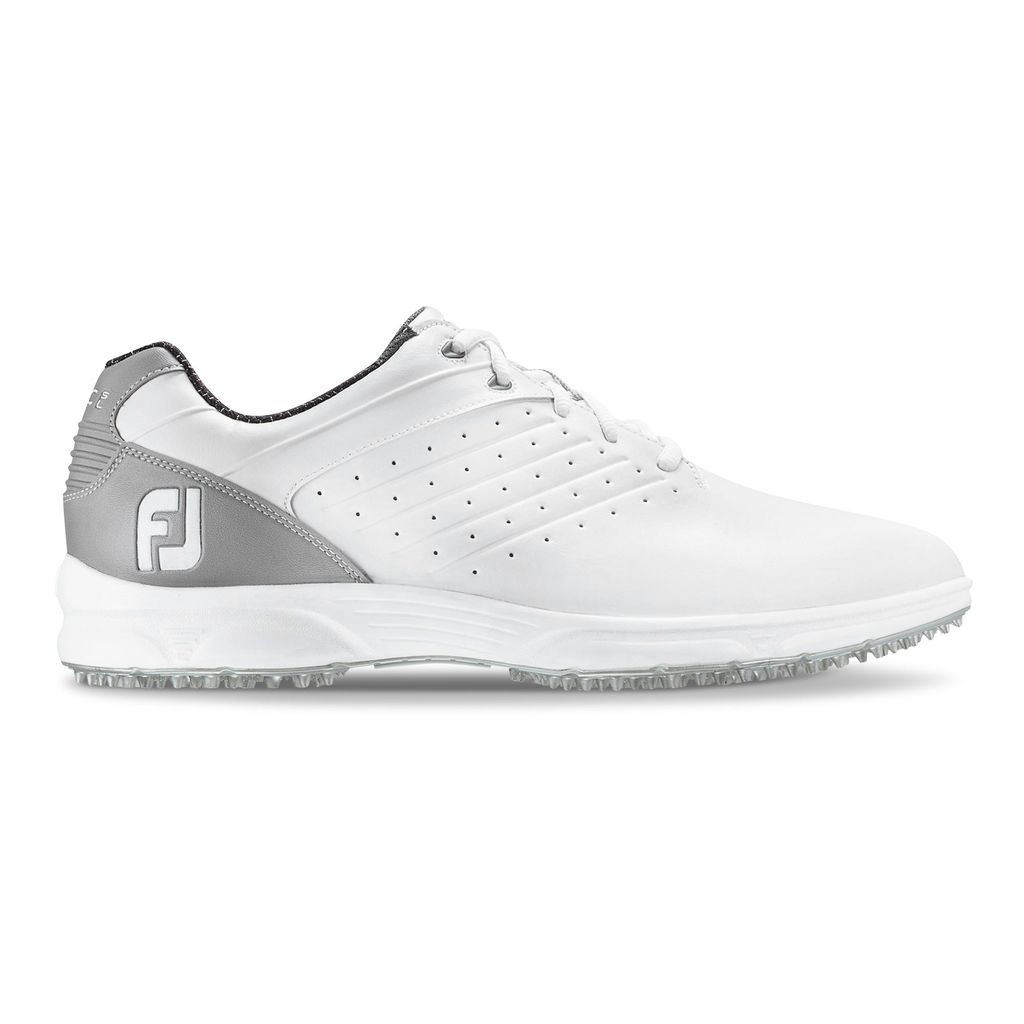 FootJoy Arc SL White/Grey Golf Shoe - Previous Season #59700