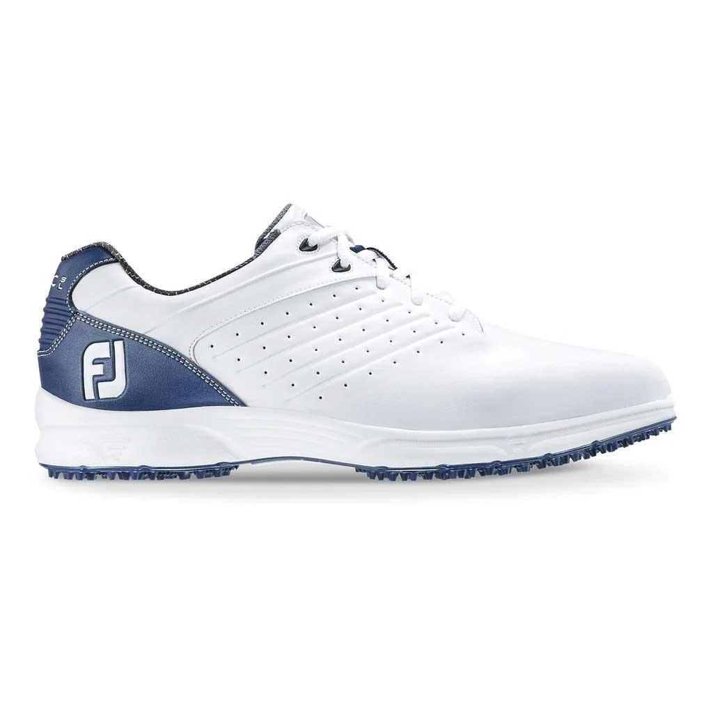 FootJoy Arc SL White/Navy Golf Shoe - Previous Season #59701