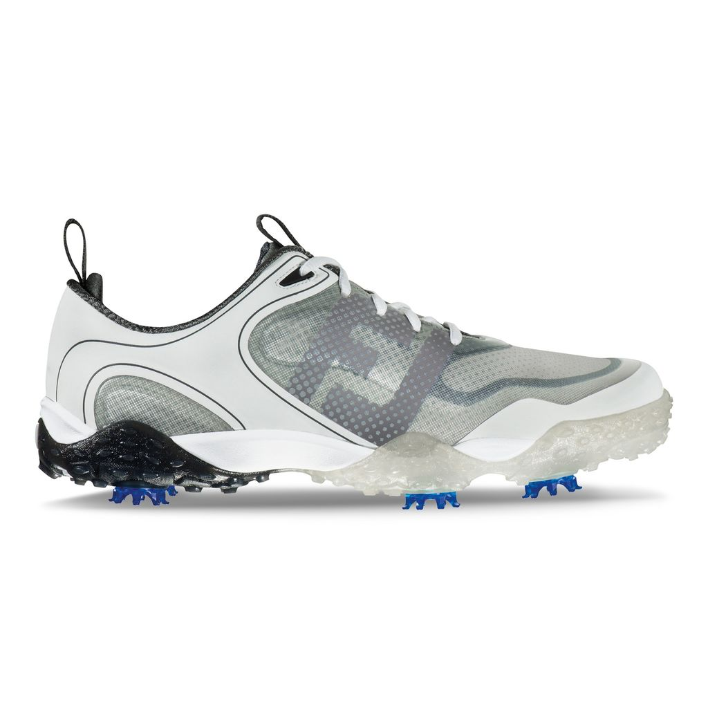 FootJoy FreeStyle White/Charcoal Golf Shoe - FJ Style 57330
