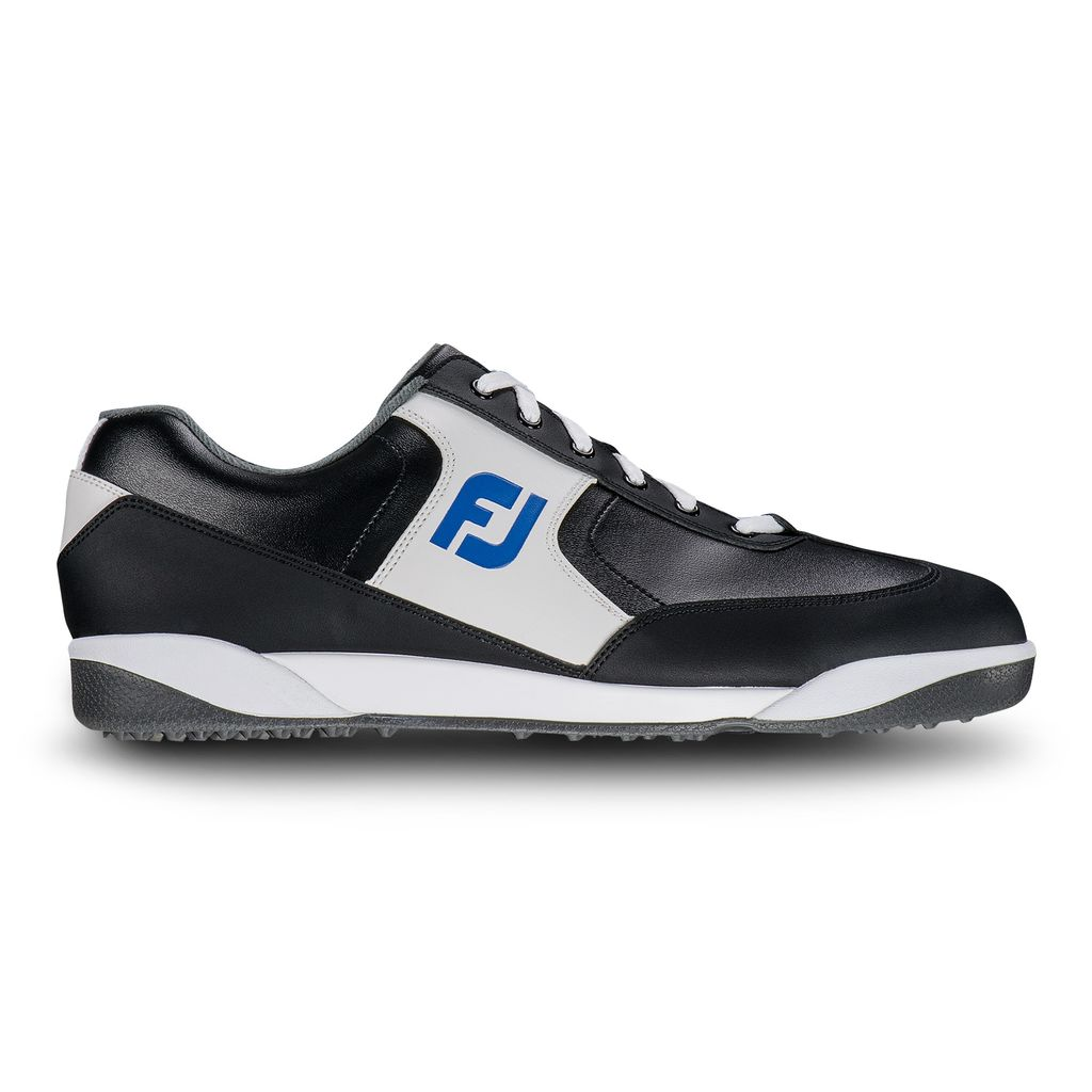 FootJoy GreenJoys Black/White Golf Shoes – (FJ Style# 45333)