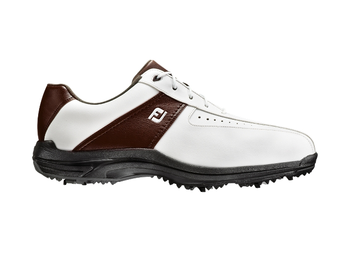 FootJoy GreenJoys White/Brown Golf Shoe (FJ# 45311)