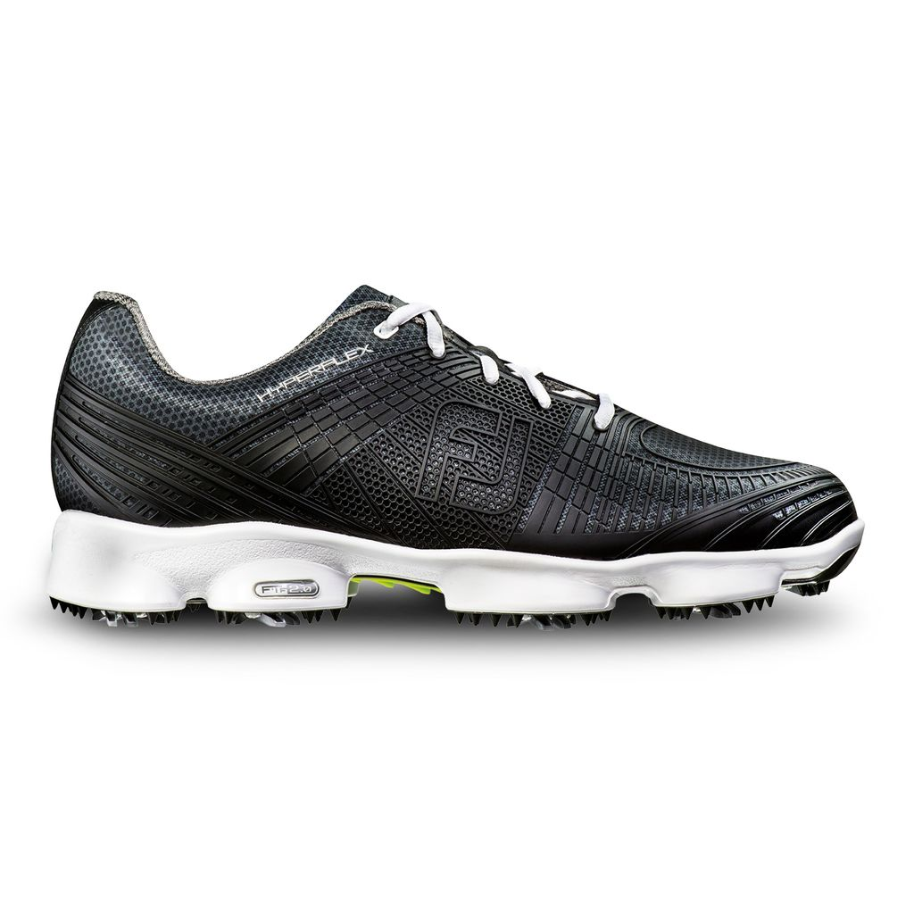 FootJoy Men's Hyperflex II Black Golf Shoe