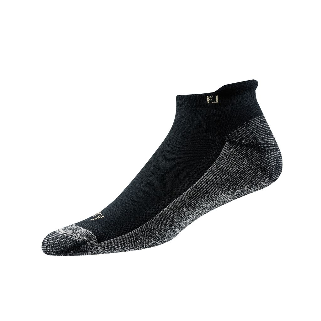 FootJoy ProDry Roll Tab Black Sock