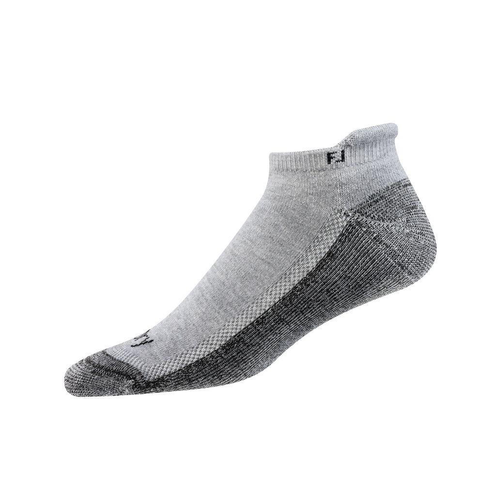 FootJoy ProDry Roll Tab Grey Sock
