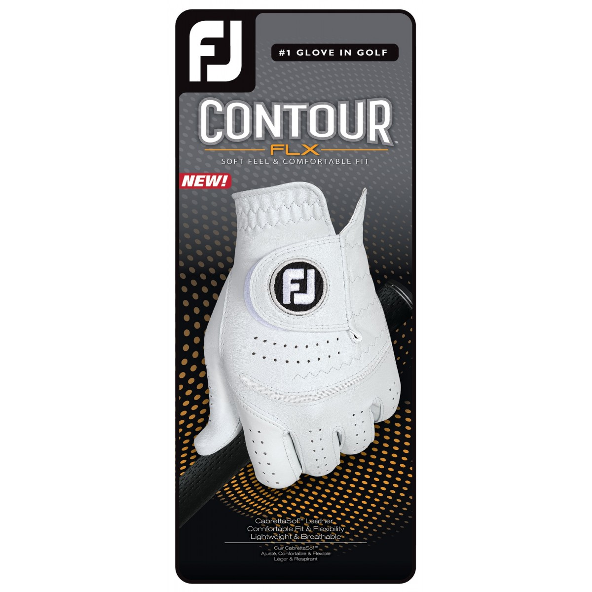 FootJoy Men's 2020 Contour FLX Golf Glove - Right Hand Regular