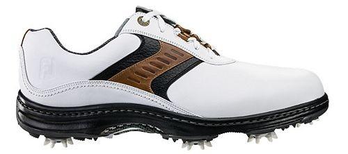 FootJoy Mens Contour Series Golf Shoe - White/Brown/Black Discontinued Style (FJ# 54130)