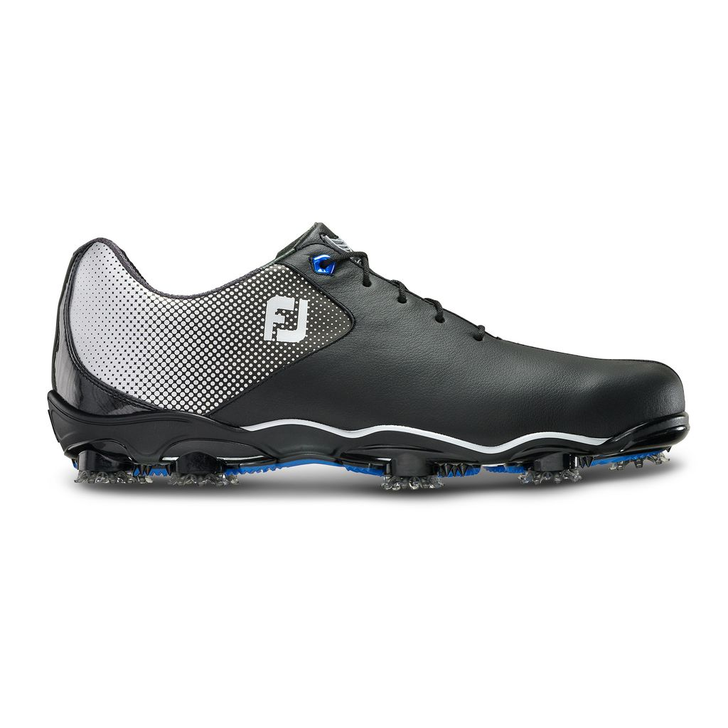 FootJoy Mens D.N.A. Helix Black Golf Shoe - FJ Style 53318