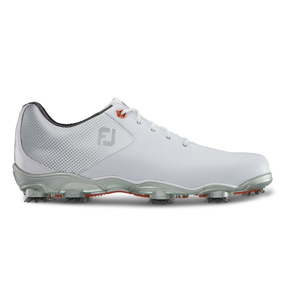 FootJoy Mens D.N.A. Helix White Golf Shoe - FJ Style 53316