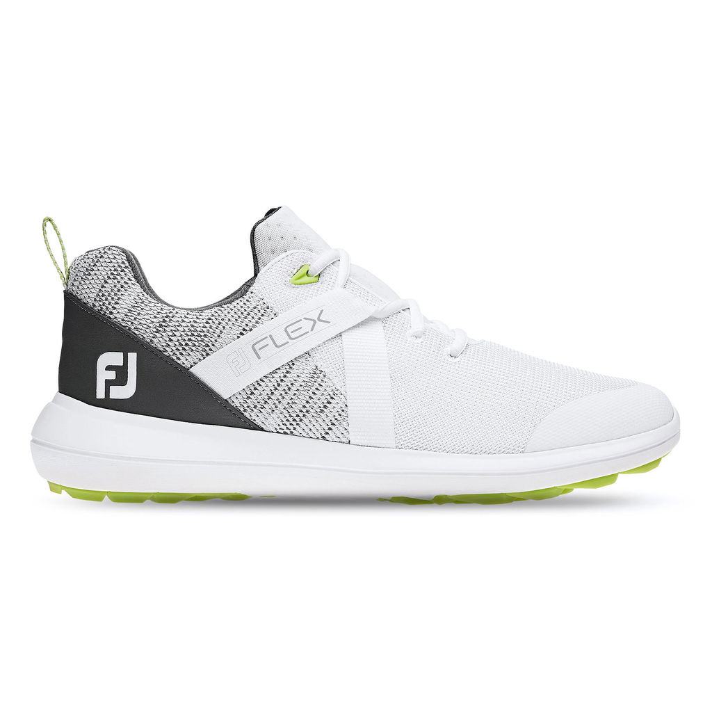 FootJoy Men's FJ Flex White Golf Shoes