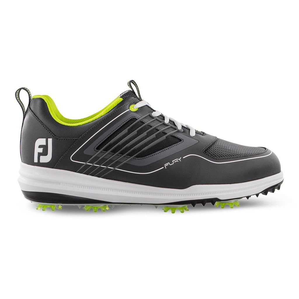 FootJoy Men's FJ Fury Charcoal Golf Shoes