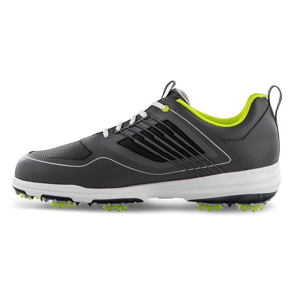 FootJoy Men's FJ Fury Charcoal Golf Shoes - Previous Season Style 51102