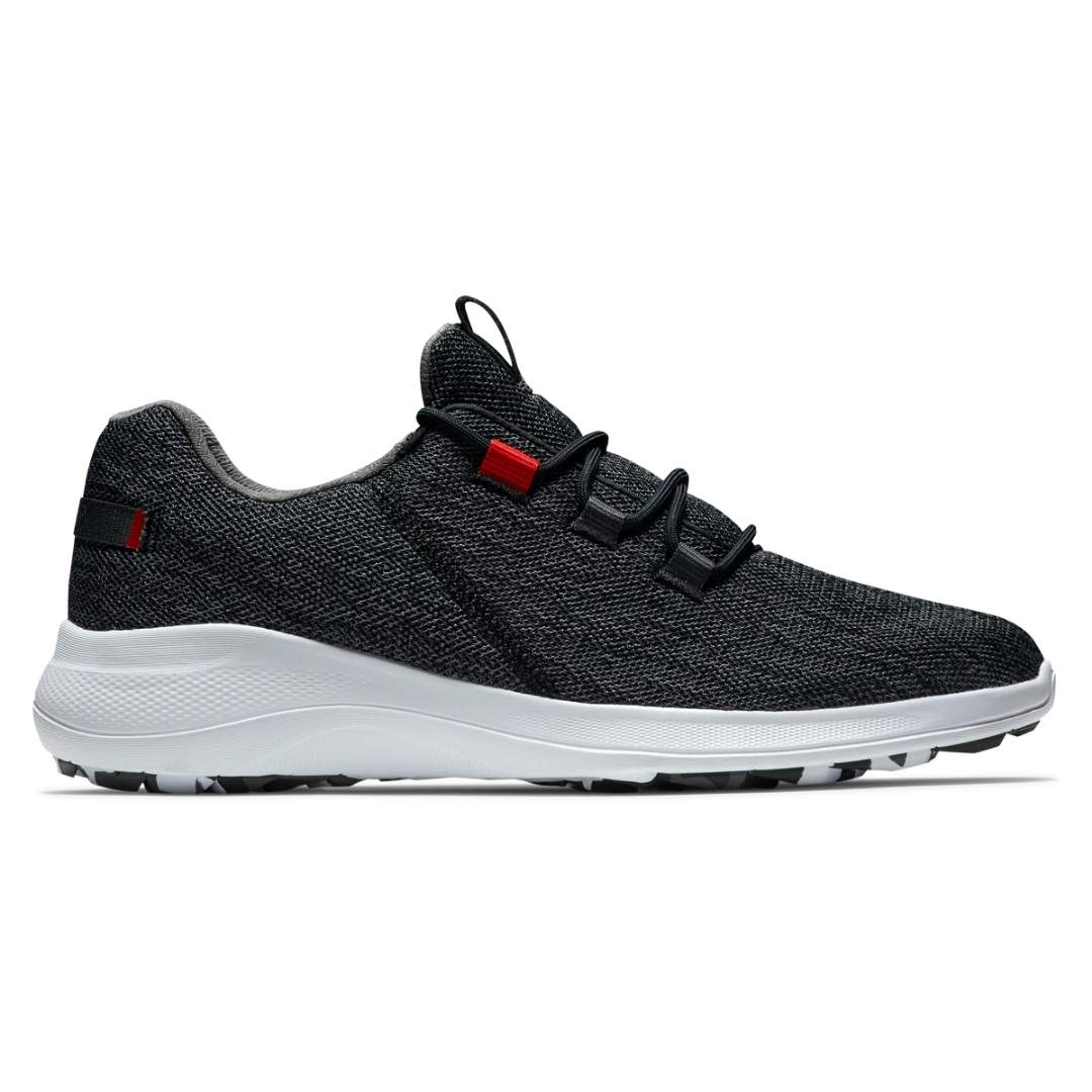 FootJoy Men's Flex Coastal Black Golf Shoe - Style 56135