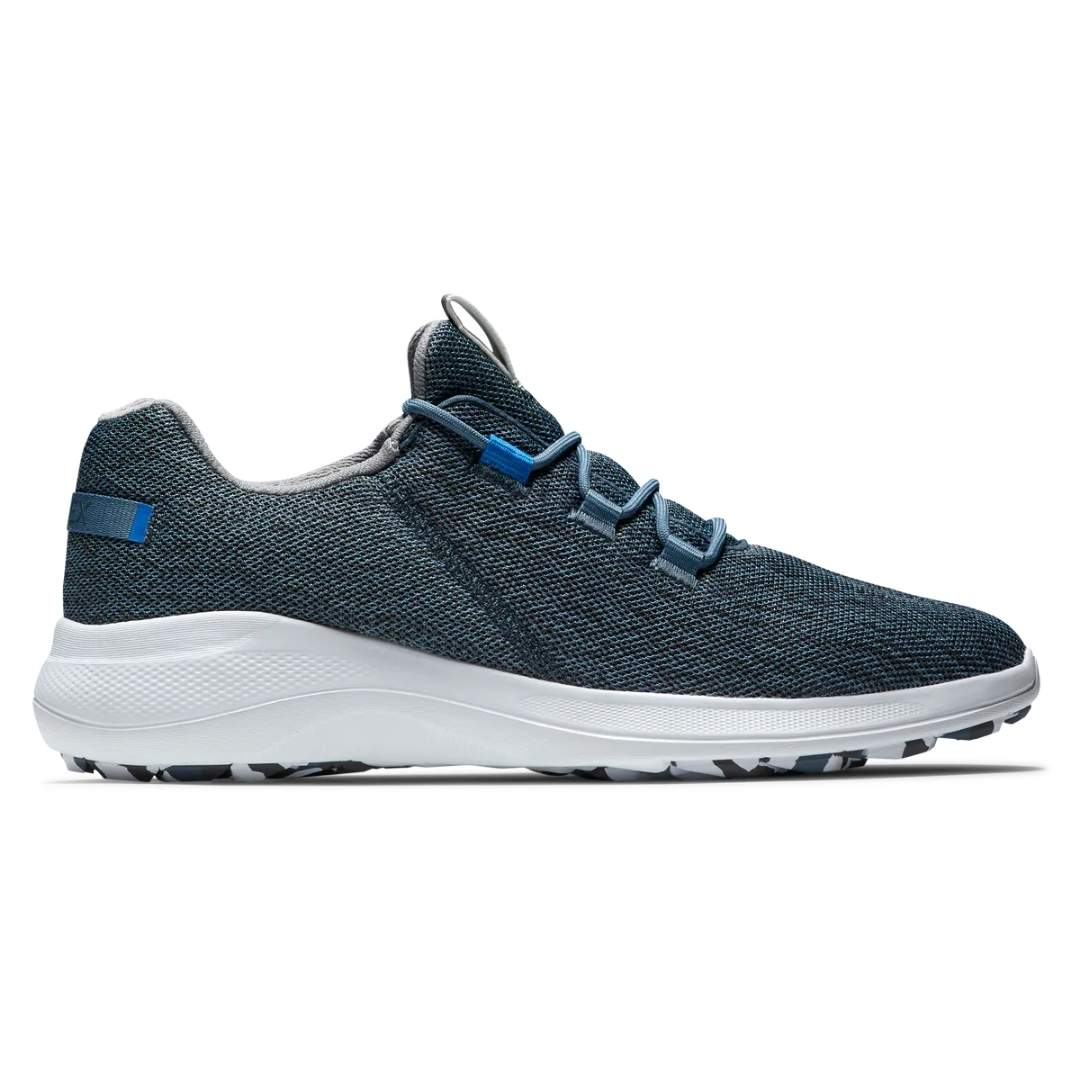 FootJoy Men's Flex Coastal Navy Golf Shoe - Style 56137