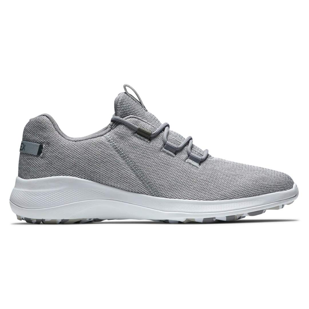 FootJoy Men's Flex Coastal White/Grey Golf Shoe - Style 56138