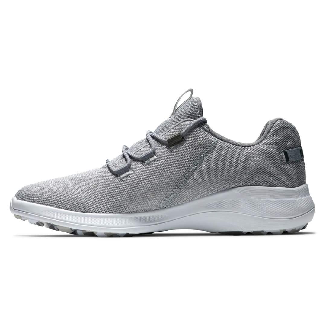 FootJoy Men's Flex Coastal White/Grey Golf Shoe - Style 56138