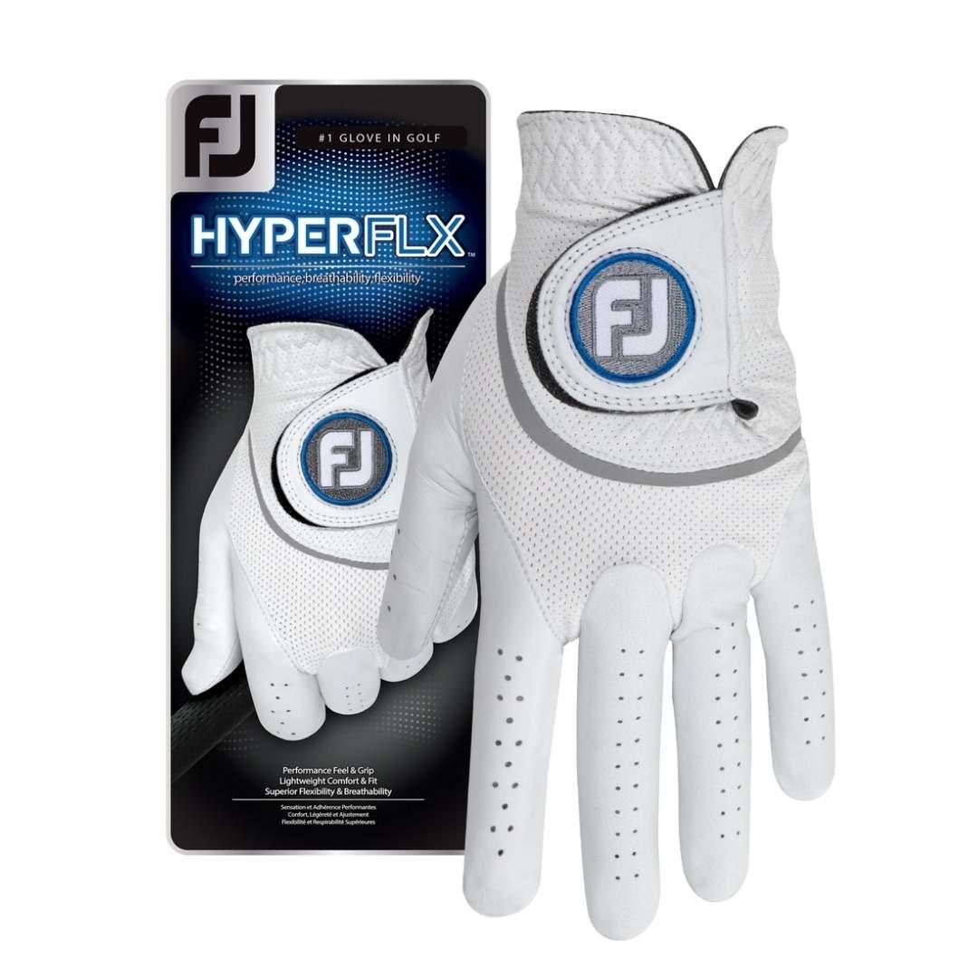 FootJoy Men's HyperFLX Golf Glove - Left Hand Cadet