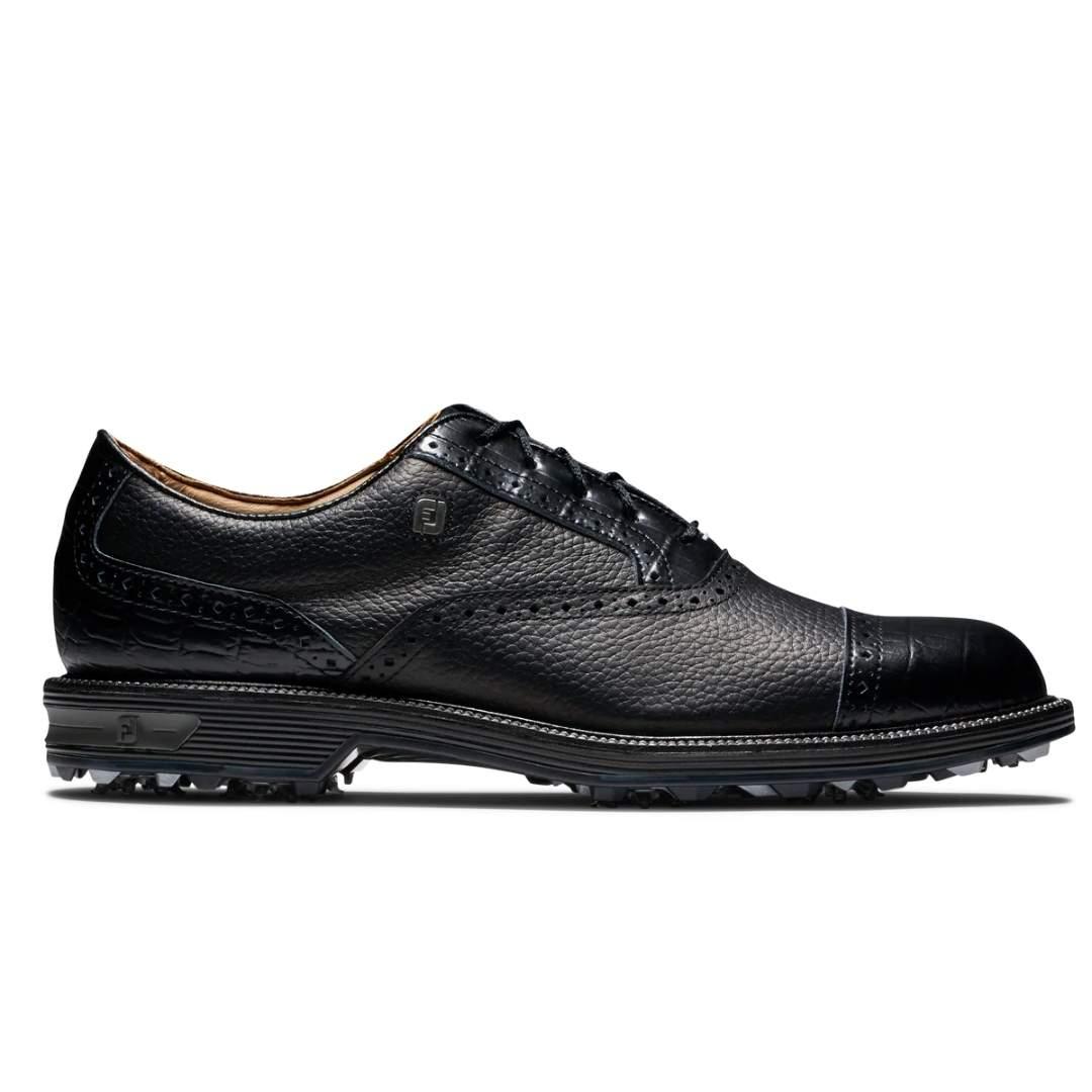 FootJoy Men's Premier Series Black Golf Shoe - Style 53905