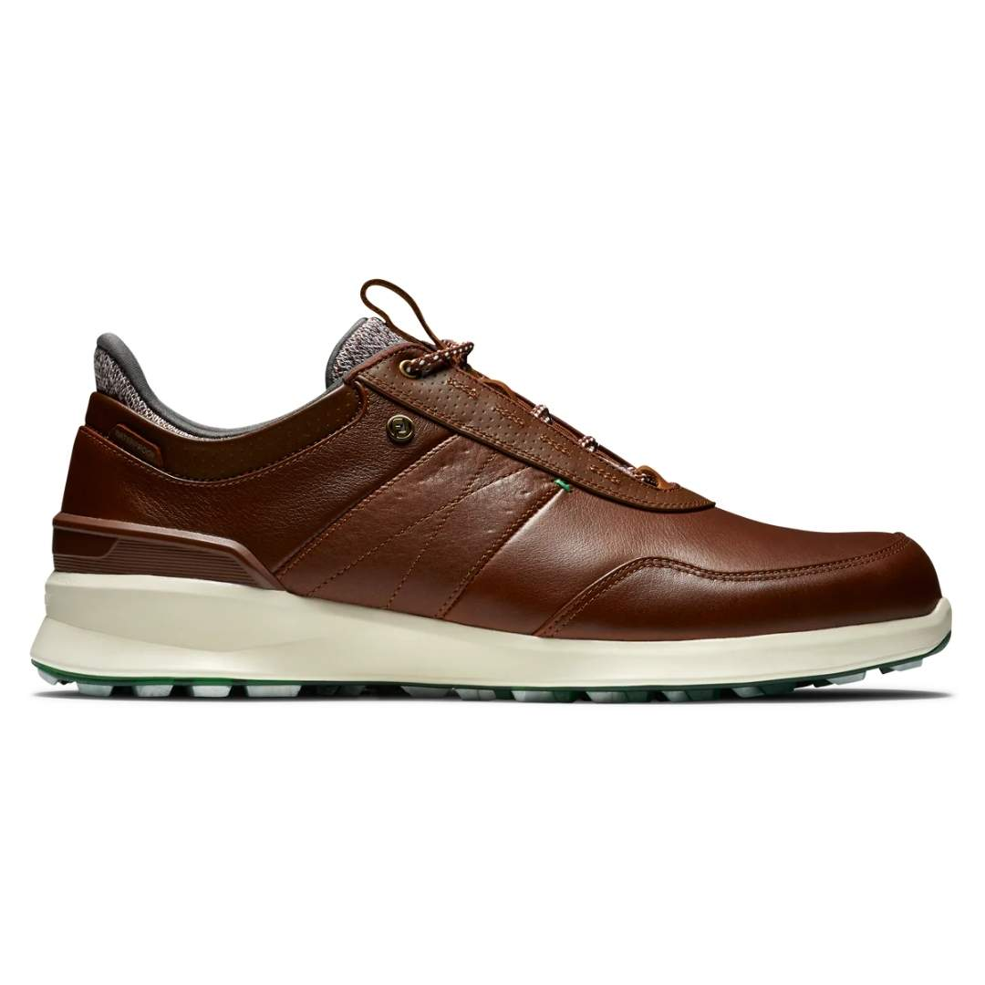 FootJoy Men's Stratos Cognac Golf Shoe - Style 50065