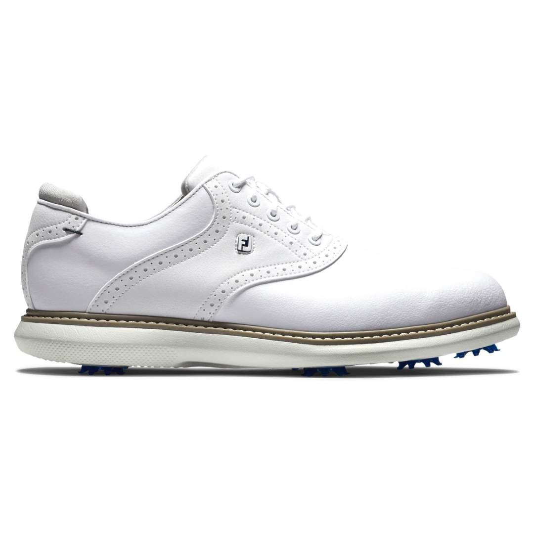 FootJoy Men's Traditions White Golf Shoe - Style 57903
