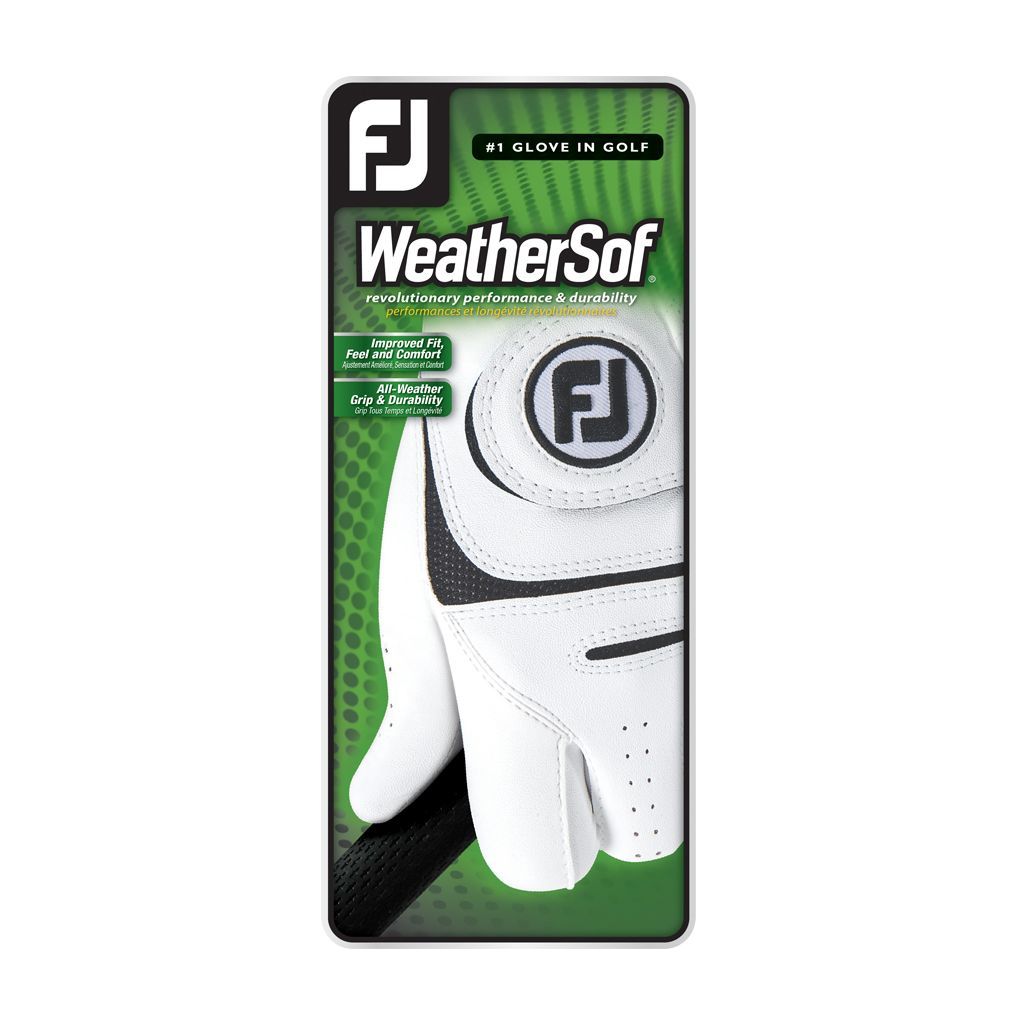 FootJoy Men's WeatherSof Golf Glove 2 Pack - Left Hand Cadet