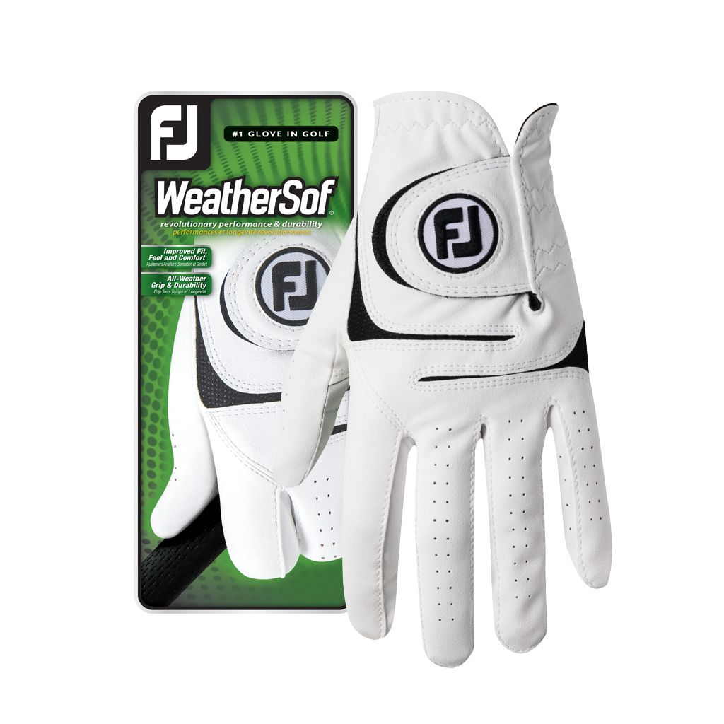 FootJoy Men's WeatherSof Golf Glove - Left Hand Cadet