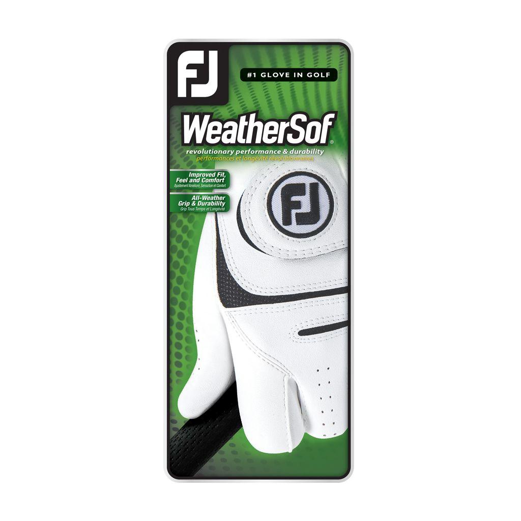 FootJoy Men's WeatherSof Golf Glove - Left Hand Cadet