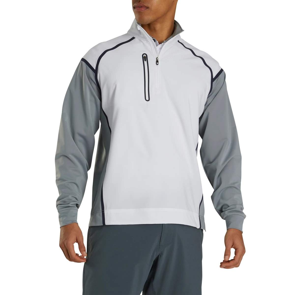 FootJoy Men's White Wind Tech Pullover