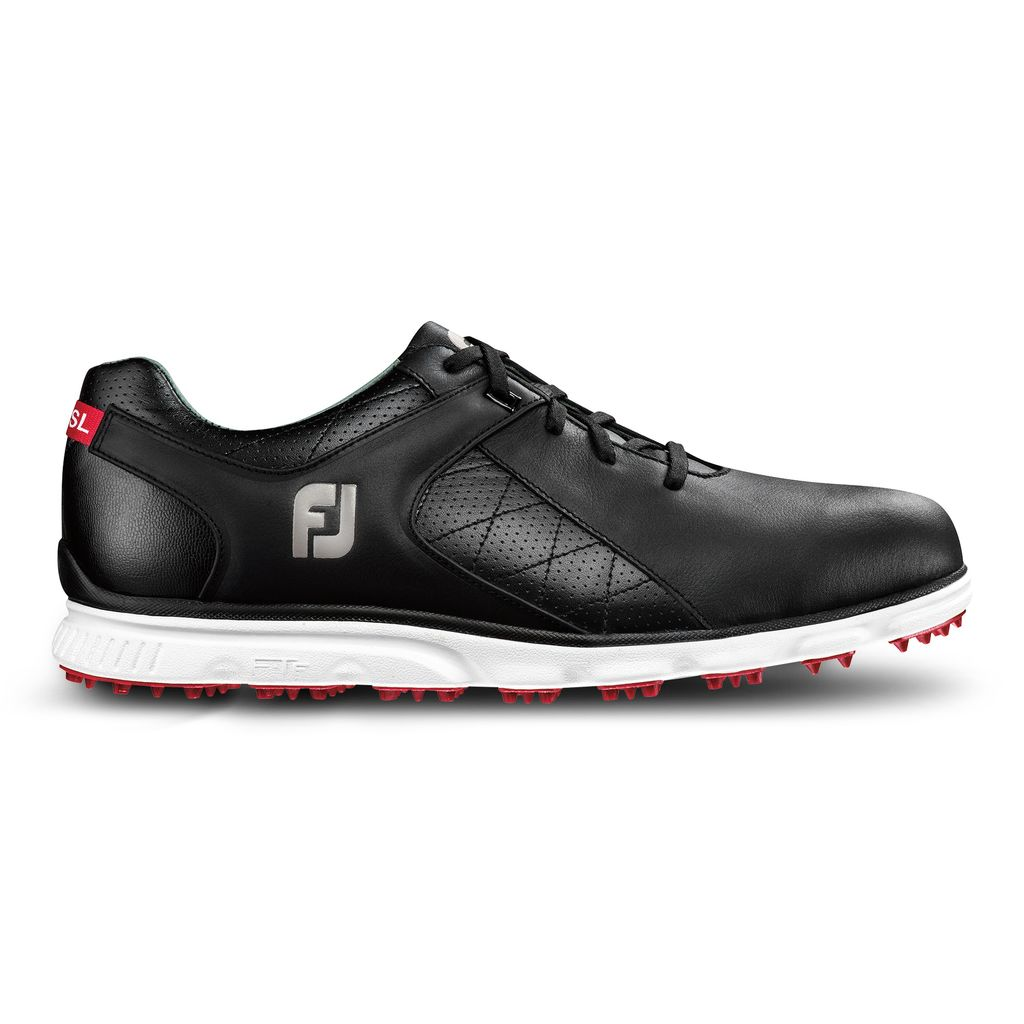 FootJoy Pro/SL Black Golf Shoes (FJ Style# 53594)