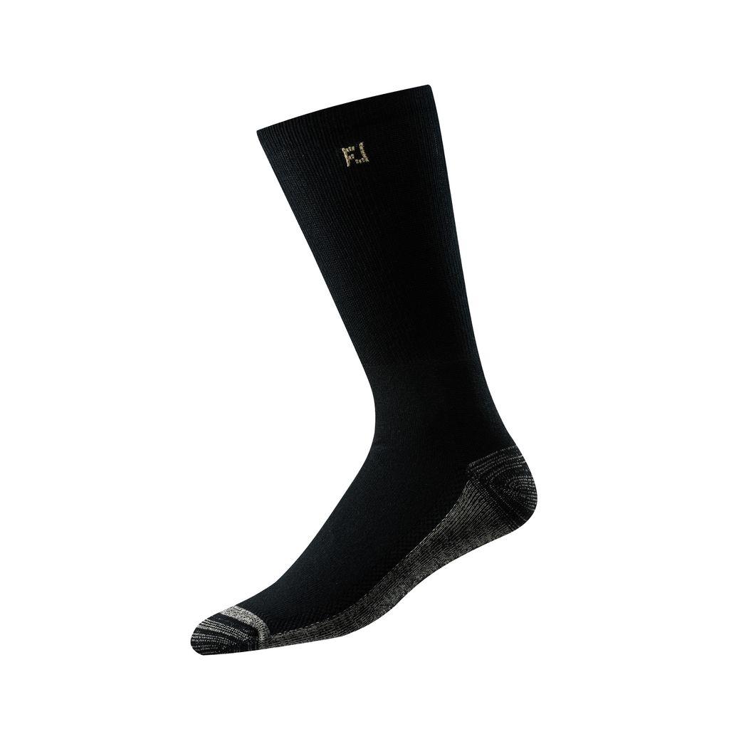 FootJoy ProDry Black Crew Sock