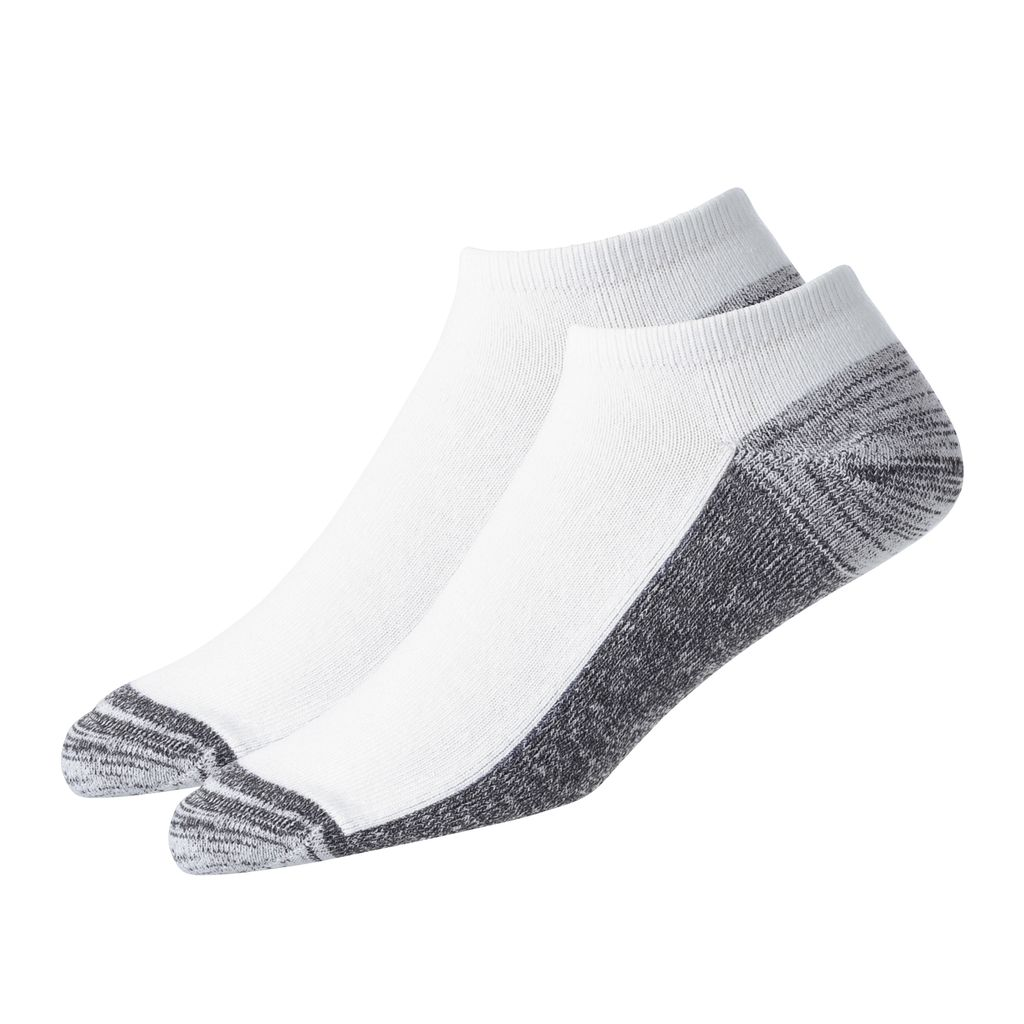 FootJoy ProDry Low Cut 2-Pack White Socks