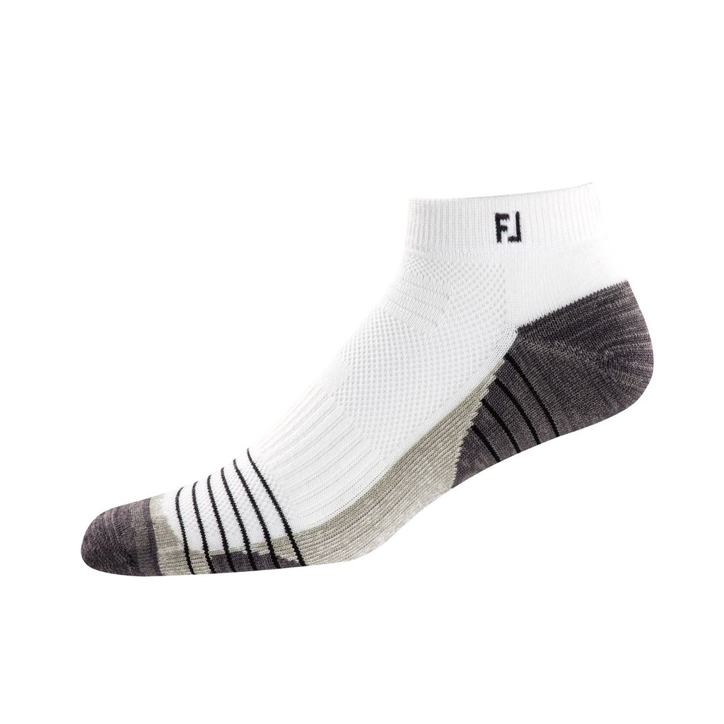 FootJoy TechSof Tour Sport White Sock