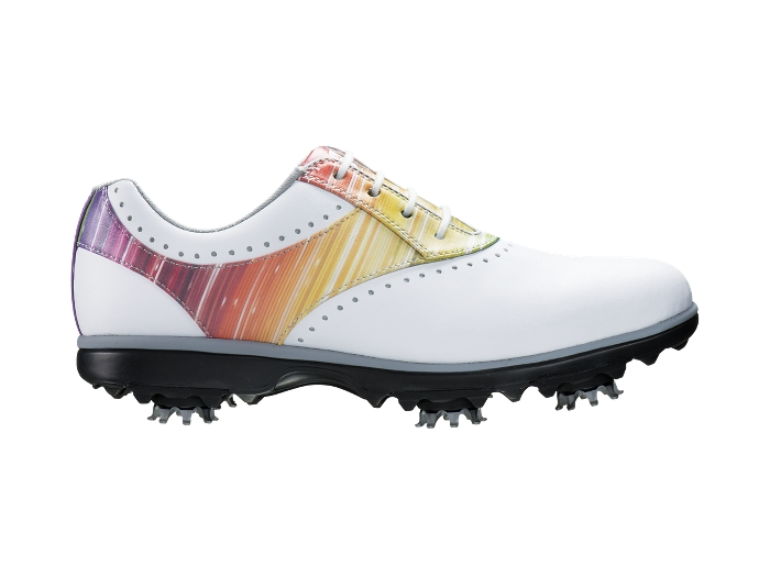 FootJoy Women's eMerge White/Rainbow Golf Shoes (FJ# 93901)