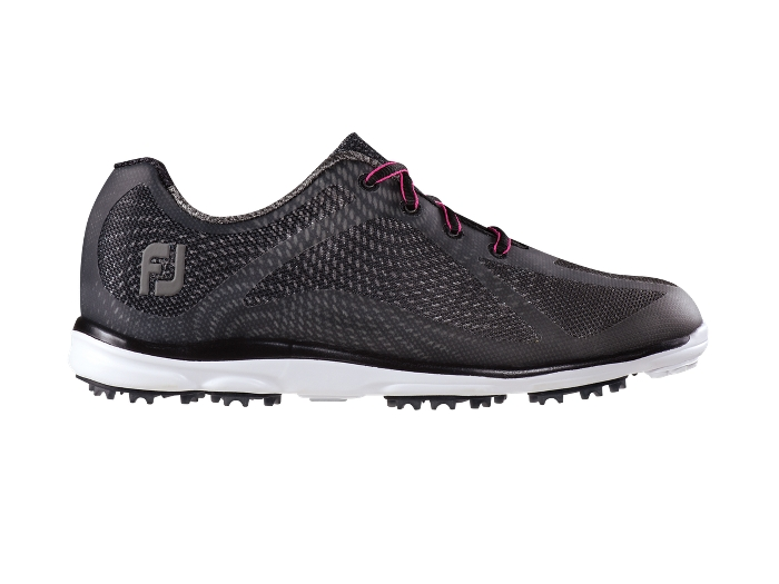 FootJoy Women's emPower Black/Charcoal Spikeless Golf Shoes (FJ# 98003)