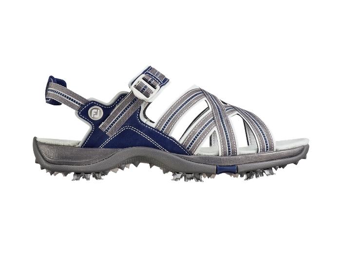 FootJoy Women's Grey/Blue Golf Sandal (FJ# 48445)