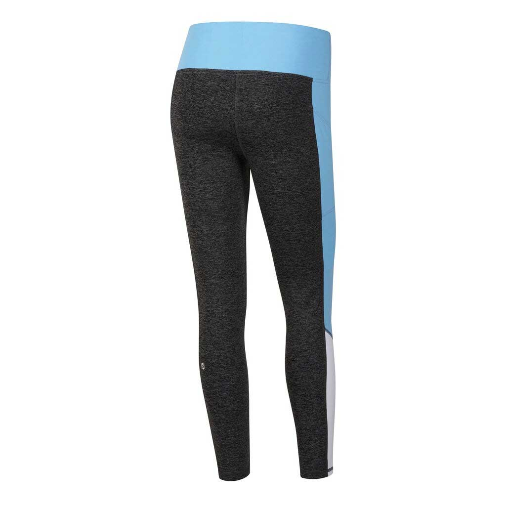 FootJoy Women's Ankle Length Colorblock Charcoal/Sky/White Leggings