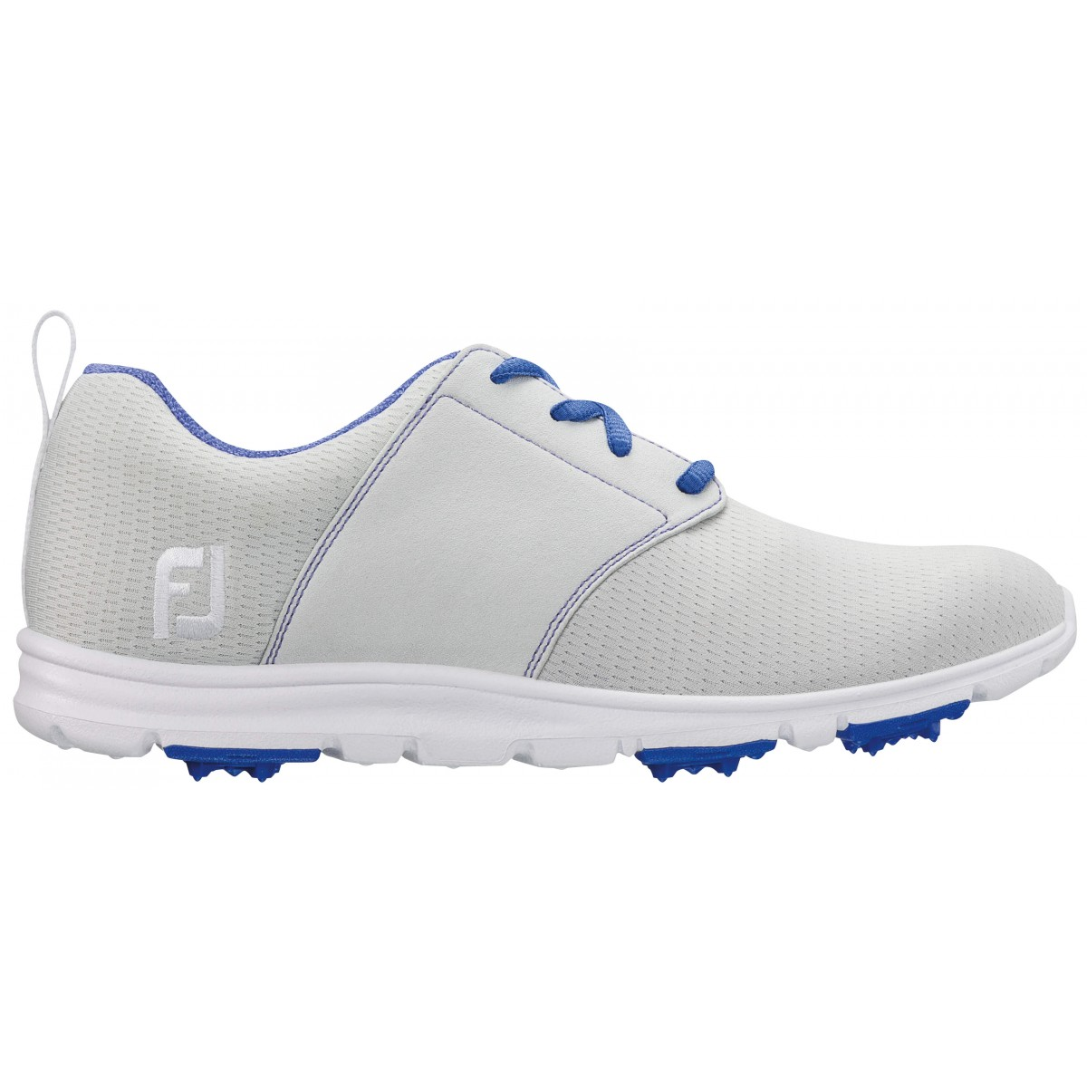 FootJoy Women's Enjoy Light Grey Golf Shoes - Closeout Style 95708