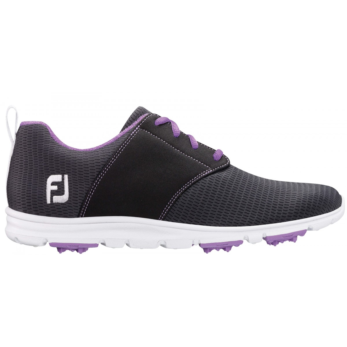 FootJoy Women's Enjoy Charcoal Golf Shoes - Closeout Style 95711